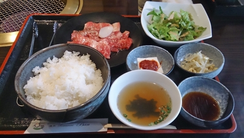 11昼ご飯は焼肉