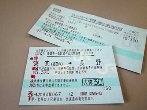 02割引切符