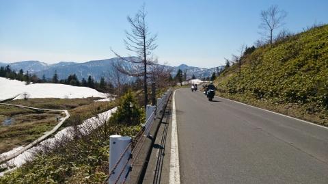 14渋峠へ