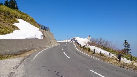 20渋峠へ