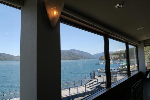 23中禅寺湖:湖畔のレストラン
