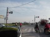 藤岡大橋で渡良瀬川を渡る