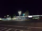 前橋駅前を通過