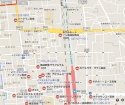 高崎のビジネスホテル