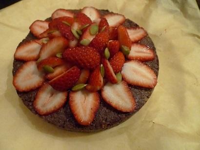 バースデーチョコケーキ1