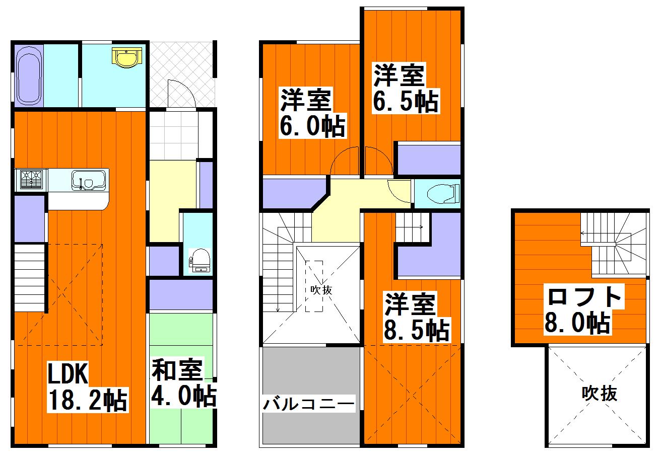 ルルーディア牛田新町 上棟!!