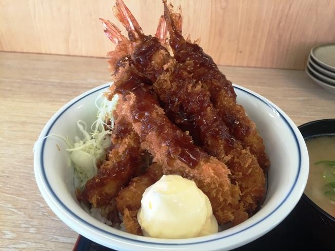 海老フライ丼3