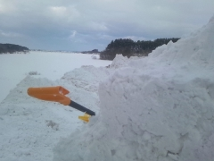 雪片付け_600