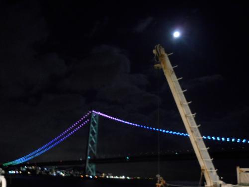 明石海峡大橋.