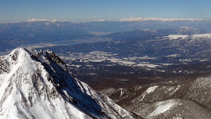 150203 赤岳より