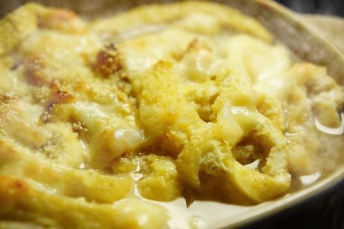 チーズ牡蠣鍋 アップ