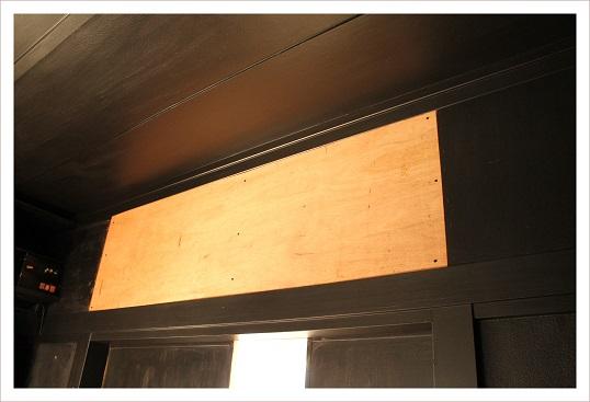 2015年クローゼットの壁DIY1