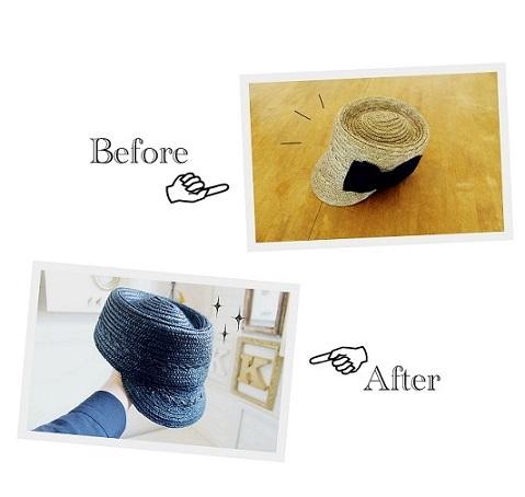 20151501帽子リメーク1