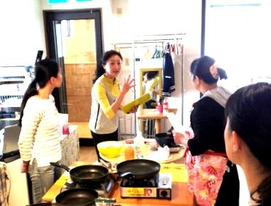 料理教える