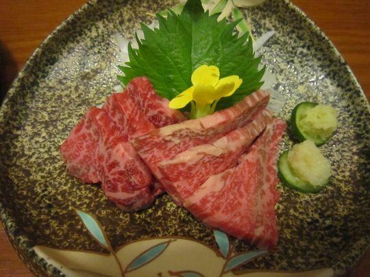 石焼のヒレ肉