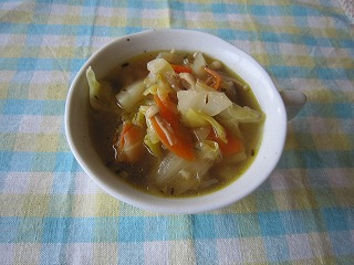 多菜なスープ