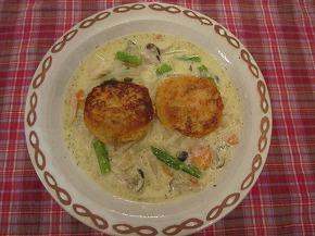 バブルバーグwithホワイトスープ