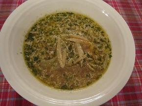春のうどスープ