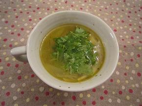 玉ネギおばさんのういきょうスープ