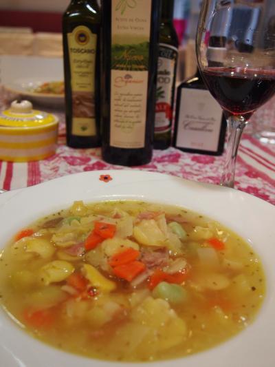 空豆のスープ(デリスイタリアン)