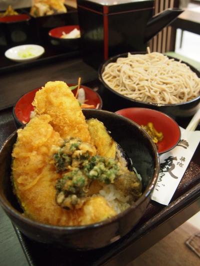イカ天丼(築地藪蕎麦)