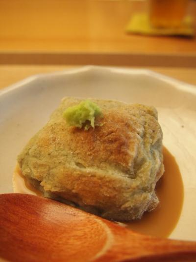 焼きヨモギ豆腐(仁)