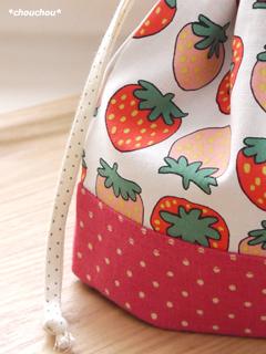 フルーツ いちご ドット