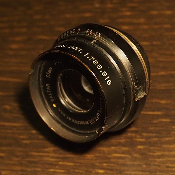 Bausch&Lomb Baltar 35mm f2.3