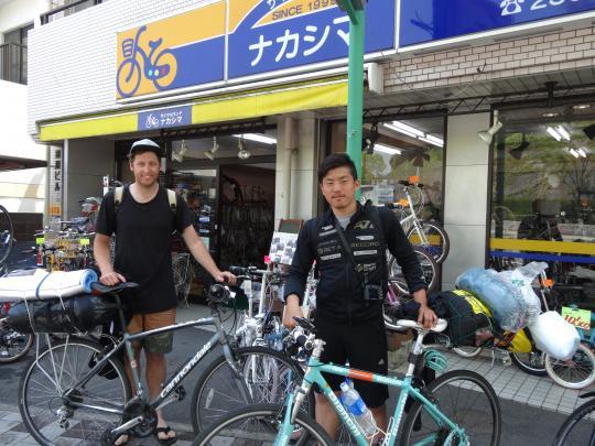 横浜から来た旅人・・・