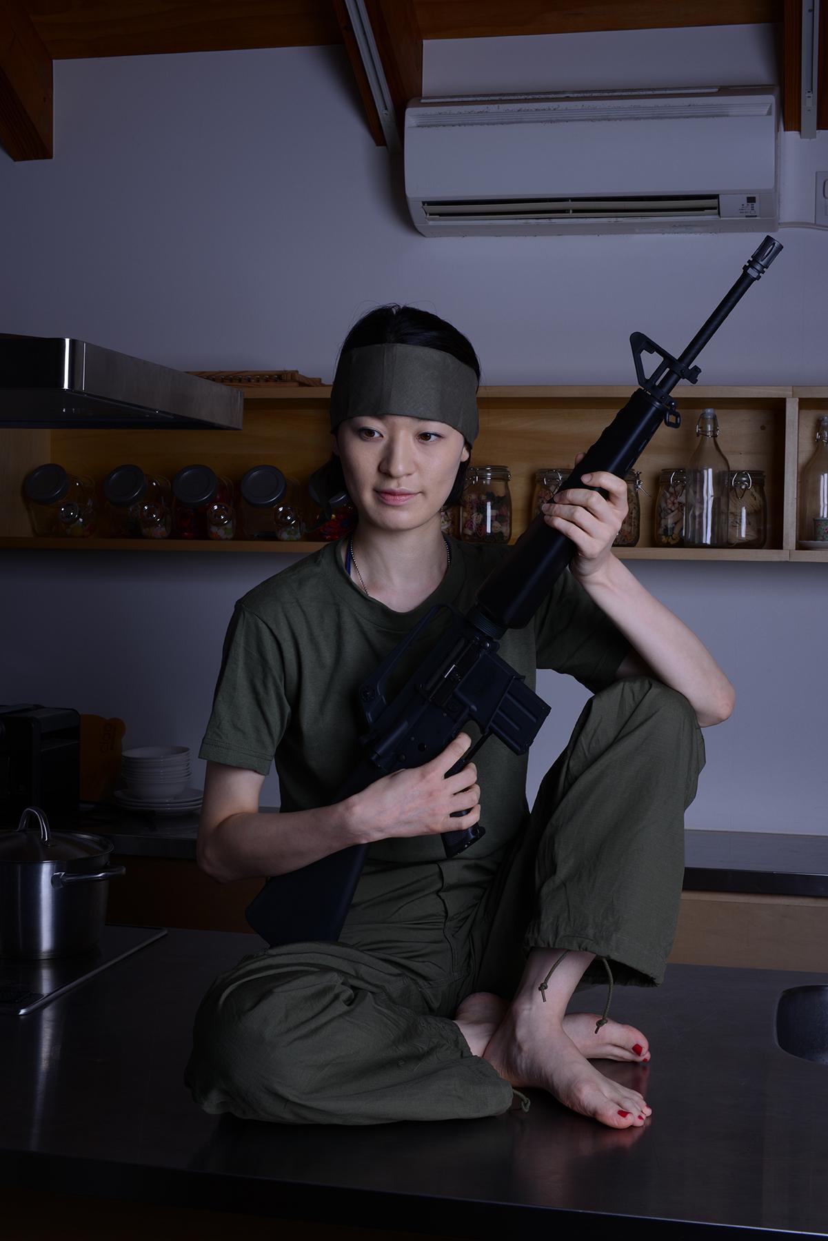 ジャングルファティーグ/実物