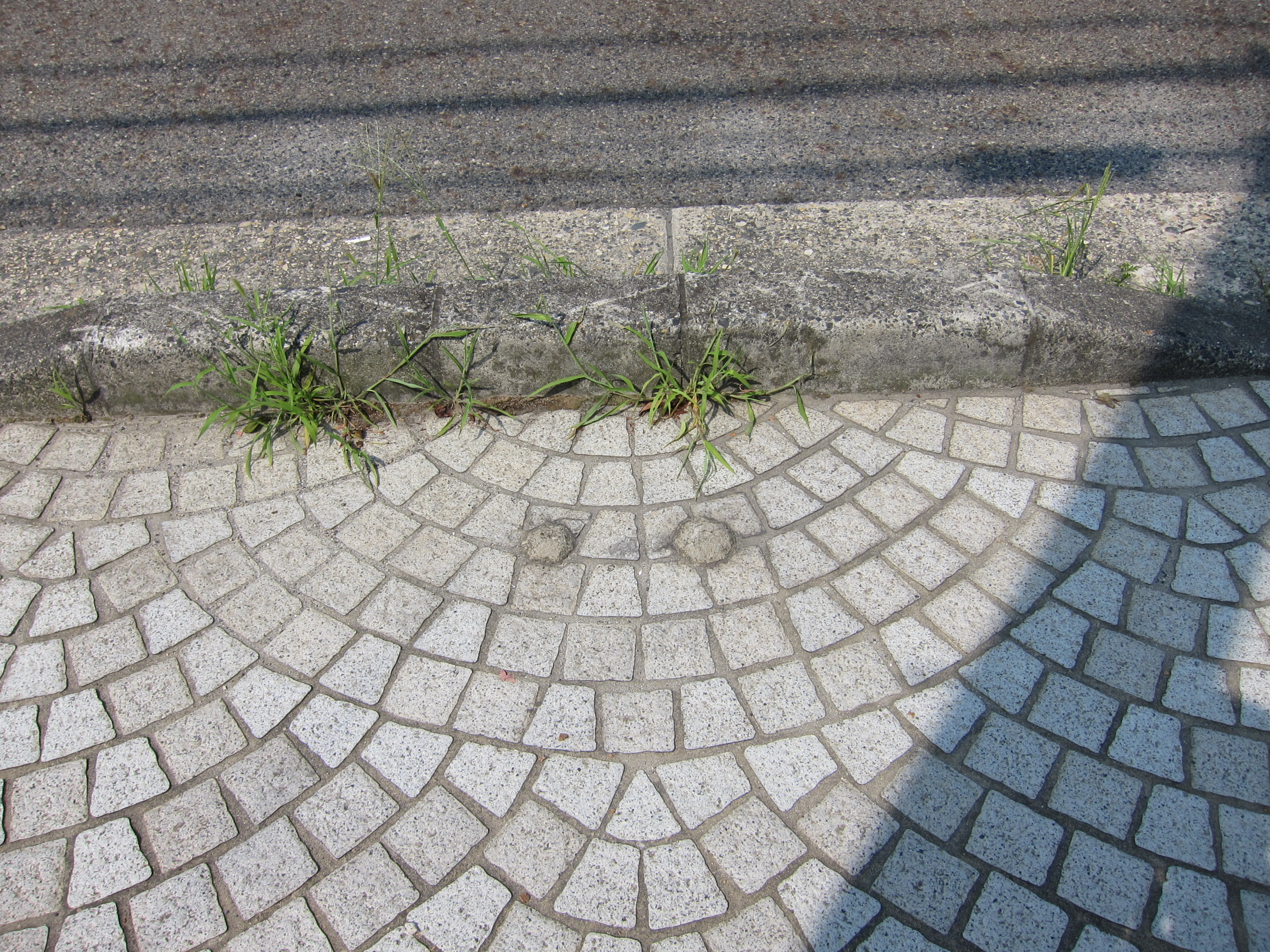 二本松 西行バス停跡