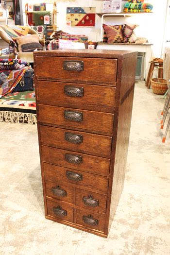 小引出し 引出し 木味 古家具 木製