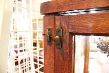 木製陳列棚 木製店舗什器 木製ショーケース ディスプレイ棚
