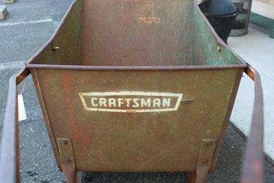 USA 『sears社』 CRAFTSMAN  ビンテージ ワゴン 錆 鉄 カート