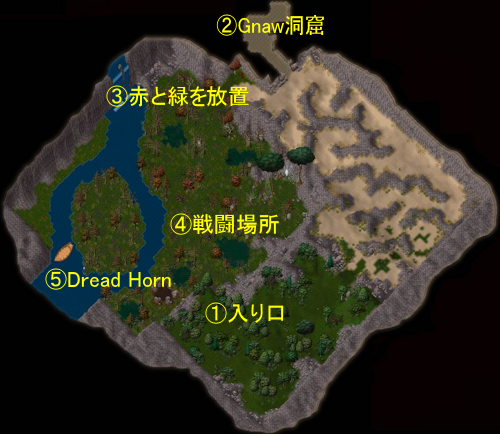Map of Twisted Weald