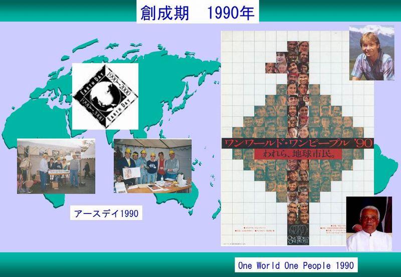 スライド5創成期1990 アースデイ