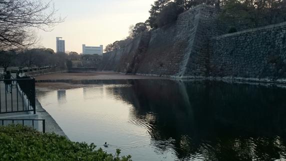 2015/01/04 大阪城