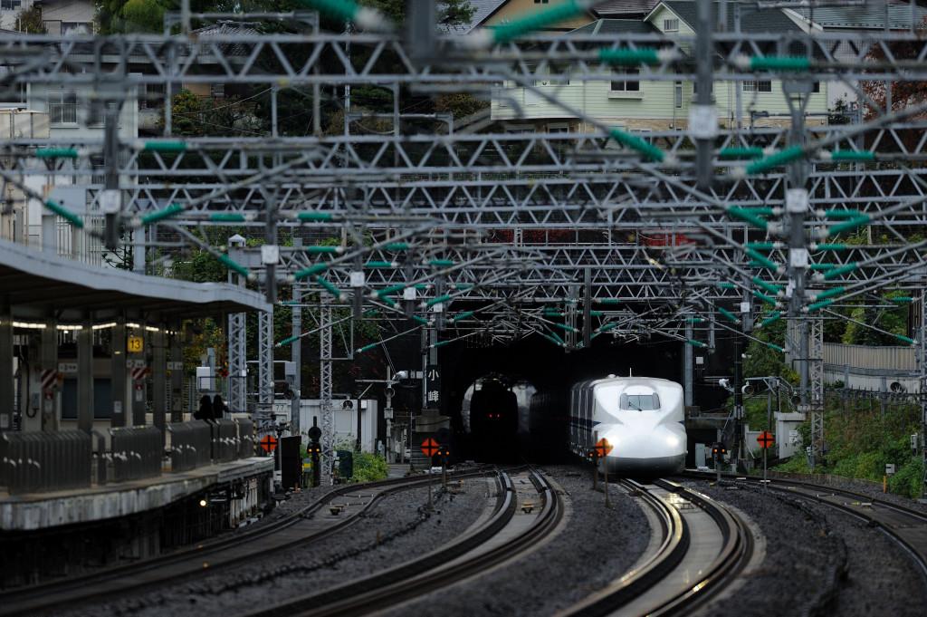 東海道新幹線 ドクターイエローT4編成 小田原駅