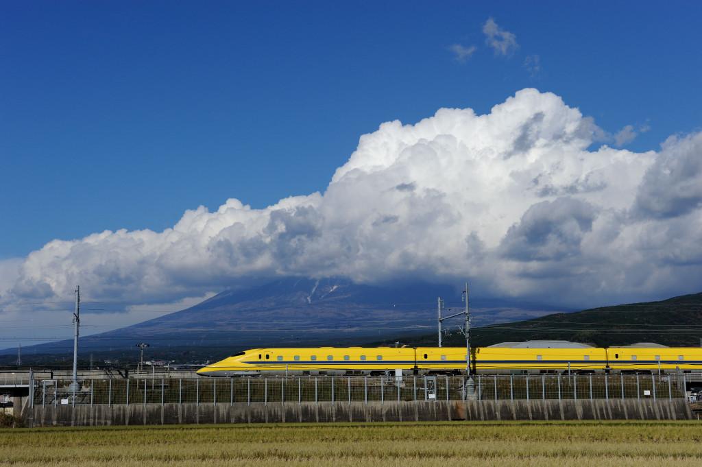 東海道新幹線 ドクターイエローT4編成 富士市中里