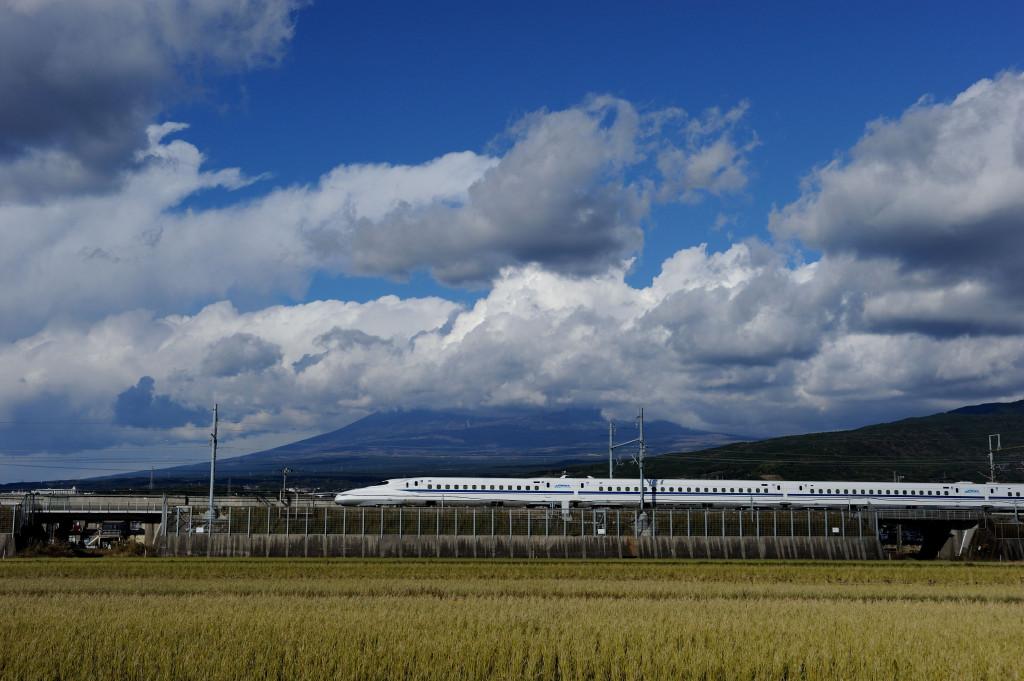 東海道新幹線 N700 X0編成 富士市中里