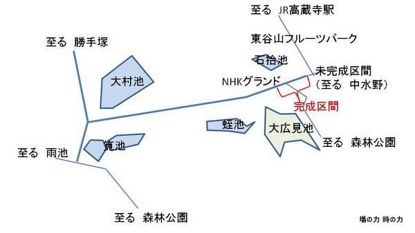 NHK横道路開通