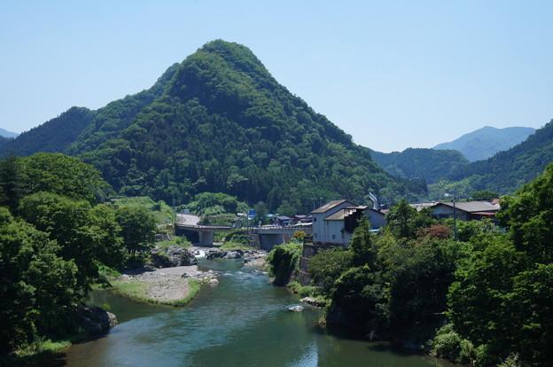 山と川~横バージョン~