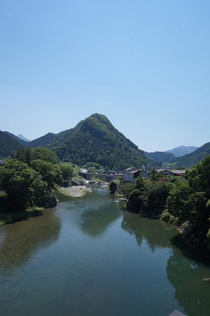山と川~縦バージョン~