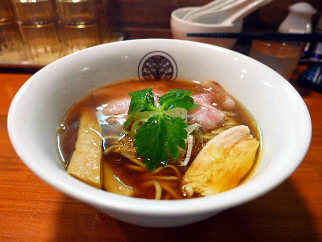 らぁ麺 とうひち@01鶏醤油らぁ麺 1