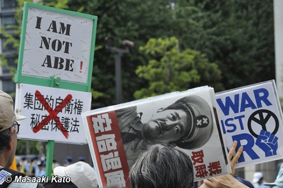 テロ朝の「報道ステーション」では、1月23日(金)の放送で、古賀茂明が「【I am not ABE】のプラカードと掲げたい」、「安倍首相は本音では武器輸出などをやりたい」などと発言し、自分たちの責任を棚上げし、