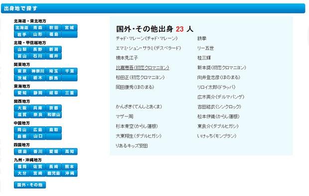 【画像】8.6秒バズーカーが吉本公式サイトで「国外・その他出身」と記載 → 芸人の名前がごっそり消えるwww