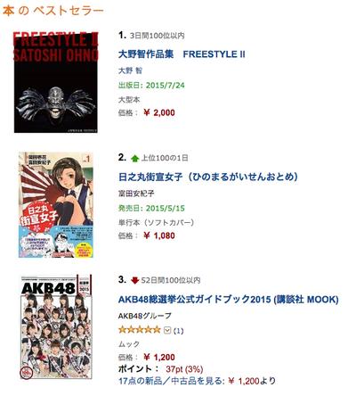 マンガ『日之丸街宣女子』作者もビックリ、発売前にAmazonランキング2位