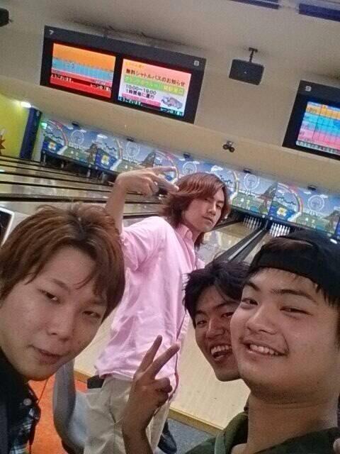 左から柴山和也17歳、舟橋龍一18歳、樋口利生(りき) 17歳など