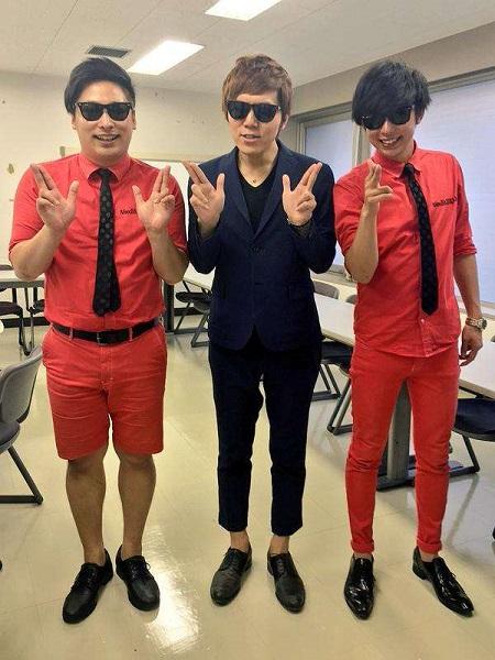 YouTuberのhikakinが昨日2人と共演したと喜んで上げていたものです。怪しい3人