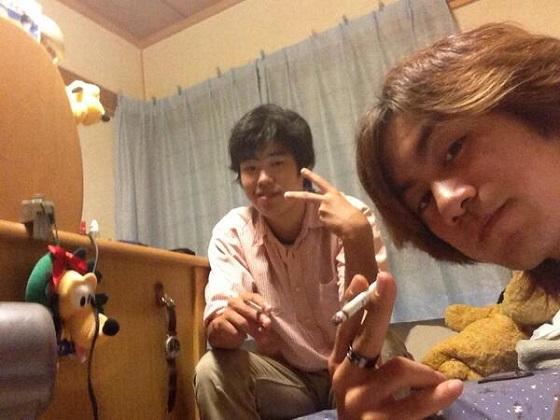 左:樋口利生(りき) 17歳、右:舟橋龍一 18歳